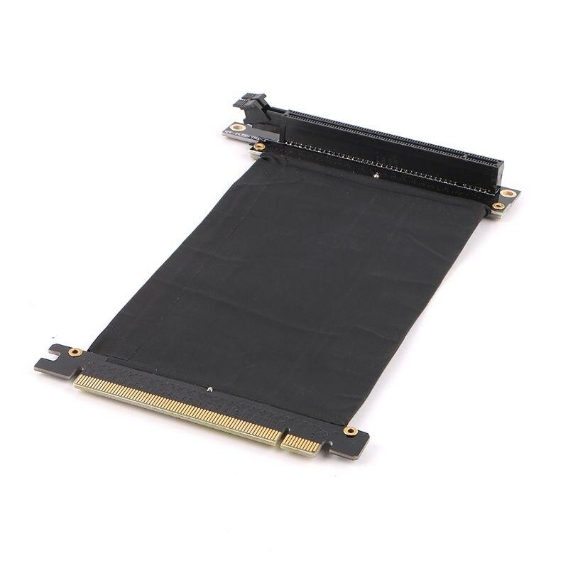 Cable Flexible PCI Express PCI-e3.0 16x para extensión de tarjeta, adaptador de puerto, tarjeta elevadora de alta velocidad, Cable conector de tarjeta gráfica