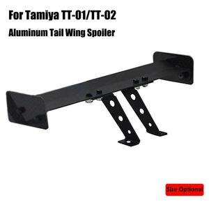 TT-02 Aluminium Tail Wing Spoiler for Tamiya TT-01/TT01E/TT02 HSP 94123 1/10 RC Drift On-Road Car