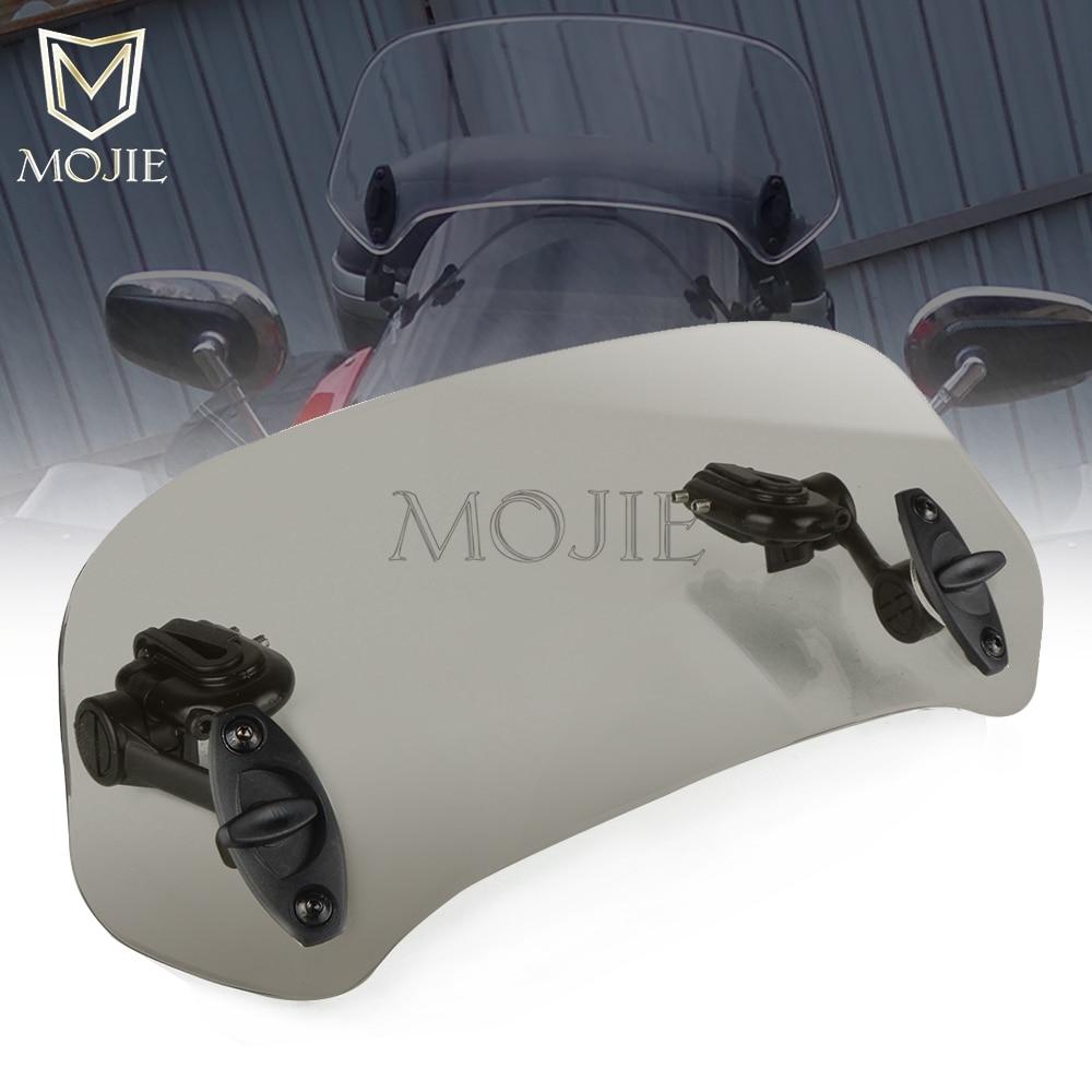 Deflector de aire de la extensión del parabrisas de la motocicleta para Honda CB400/CB400SF/CB400 VTEC CB400X CB500 CB500F CB500R