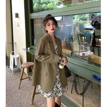 Korean Women's Suits Small Suit Coat Women's Spring And Autumn 2021 New Suit Small Casual Top Design