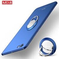 Чехол для Mi 5 с кольцом Msvii, матовый чехол для Xiaomi Mi5 Mi, чехол для Xiaomi Mi 5X, MiA1, чехол для Xiaomi Mi A1, 5X, Mi5 s, чехлы для телефонов