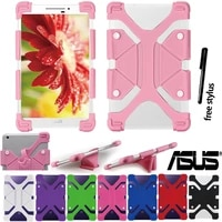 shockproof soft silicone stand cover case for 9 710 1 asus zenpadmemo pad tablet drop resistance protective shell