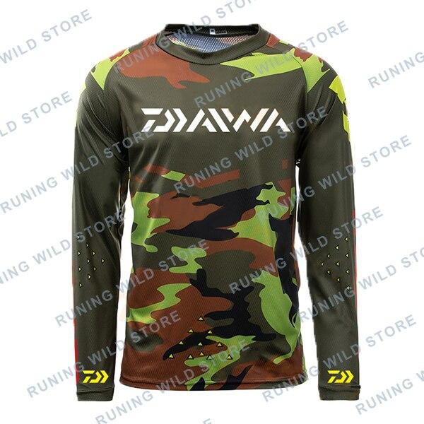 2020 New Brand Dawa Daiwa Fishing Shirts Fishing Clothes Plus Size Anti Uv Cycling Fishing Clothing Outdoor Sport Quick Dry Mens