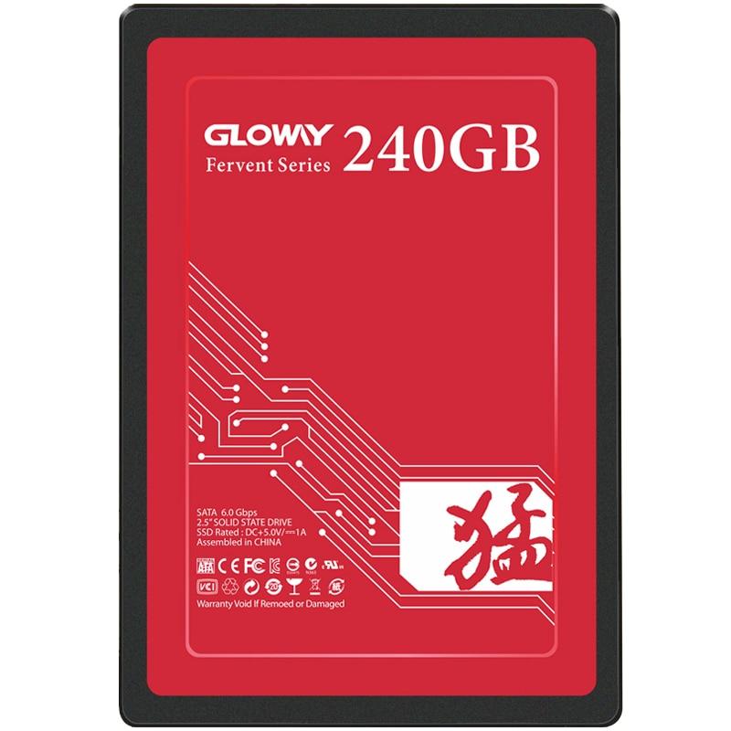 "Gloway ssd 60gb 240GB SSD DA 120GB Dischi A Stato Solido da 6 GB/s 2.5 ""Internal SATA III TLC flash ssd"
