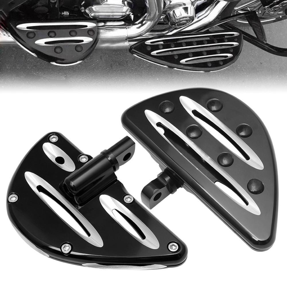 Motocicleta Masculino Monte-Estilo FootPegs Apoios para Os Pés Fit Para Harley FLH Touring Road King Dyna Sportster XL 1200 883