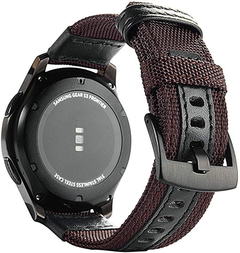 Bracelet de 22mm pour montre Huawei GT GT2 bracelet de montre intelligente Active bracelet de montre en cuir en Nylon pour bracelet magique de montre dhonneur