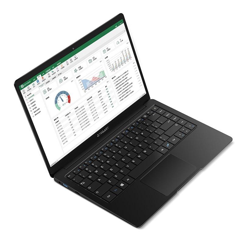 Teclast F6S 13.3 Inch 1920x1080 FHD IPS Laptop Intel Apollo Lake Windows 10 Notebook 8GB LPDDR4 128GB 256GB 512GB SSD USB3.0