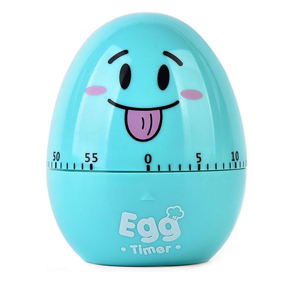 Alarme de cozimento mecânica relógio de pulso dos desenhos animados ovo desktop lembrete portátil contagem para baixo adorável cozinha temporizador cronômetro com escala