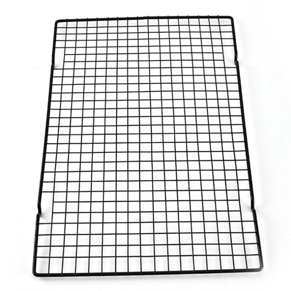 1PC BBQ Rack Cooking Baking Tool Cake Wire Grid Picnic Outdoor Kitchen Carbon Steel Cooling Accessories BBQ Rack  - buy with discount