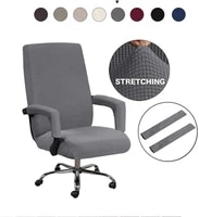 office chair cover computer lift computer desk chair covers rotating swivel protectors removable washable stretch seat cover