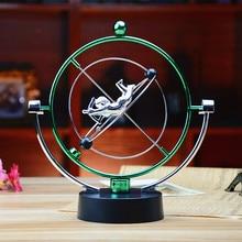 H006 cupido tiro com arco celestial movimento faixa aparelhos de movimento perpétuo balançando pingente casa arte dinâmica metal