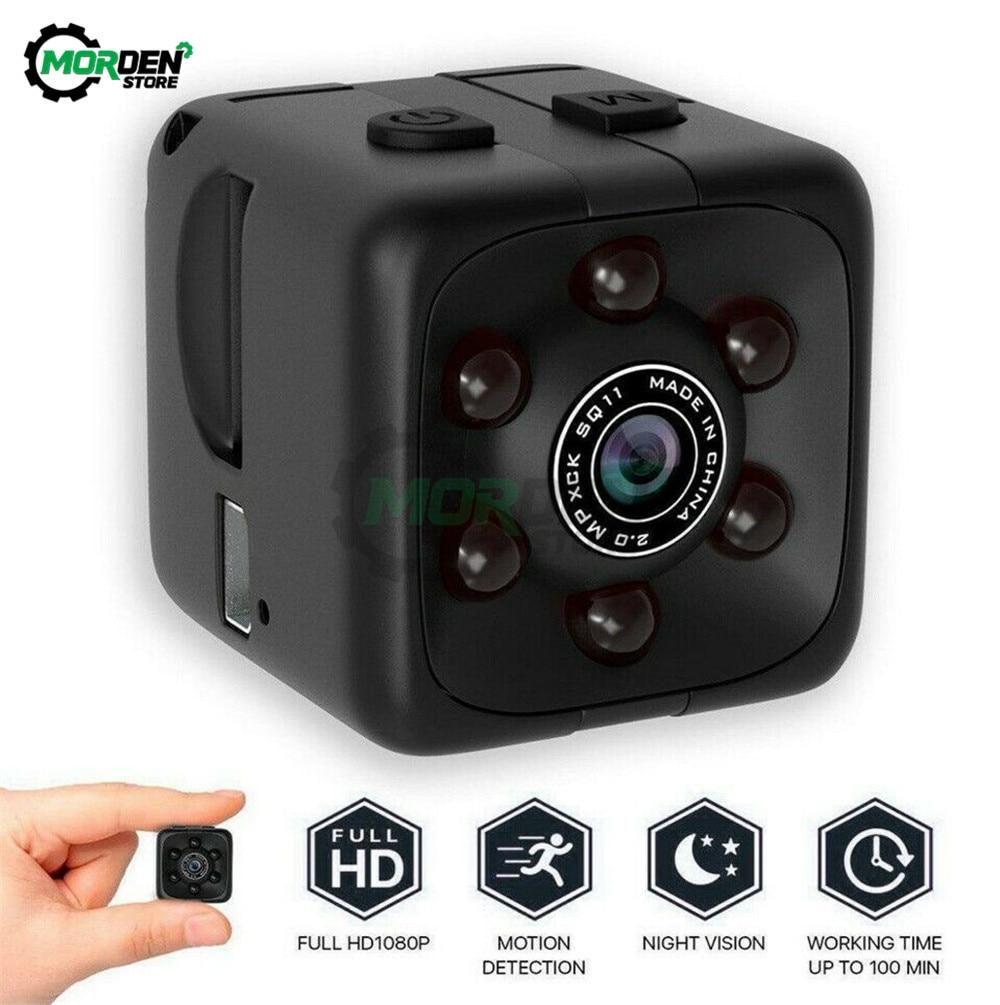 Мини-камера HD 720P 1080P SQ11, датчик ночного видения, видеорегистратор движения, Цифровая микро камера, спортивный регистратор, видеокамера мини-...