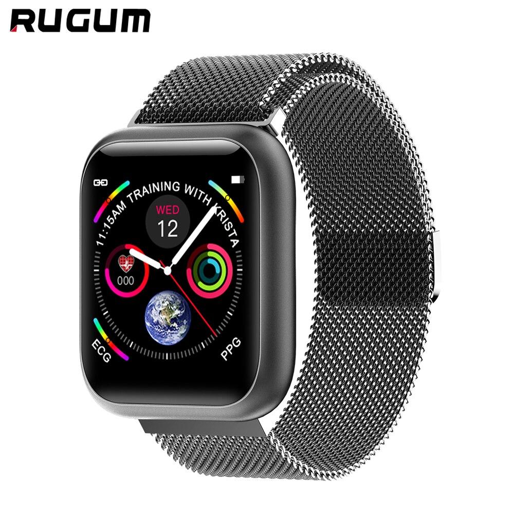 Rugum F11 smart watch IP67 impermeable smartwatch con monitor de ritmo cardíaco múltiples modelo sport fitness tracker hombre mujer