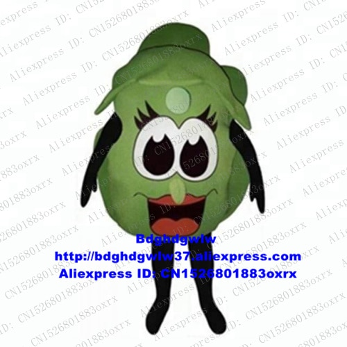 Alface romaine lechuga endive der salat vegetal mascote traje adulto personagem dos desenhos animados festa de férias carnaval fiesta zx2602