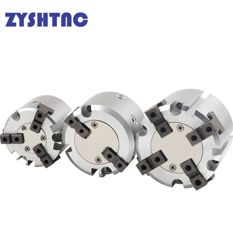 MHS2/MHS3/MHS4 سلسلة 2/3/4 فنجر هوائي القابض SMC استبدال مزدوج عمل الدورية اسطوانة 16D/20D/25D/32D/40D/50D