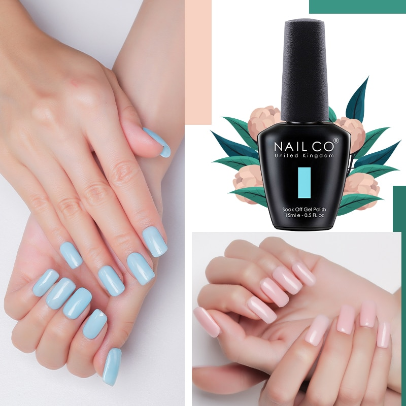 Nailco 85 Colors Nail Gel Uv Led 15ml Lacquer For Manicure Varnish Hybrid Semi Permanent Varnishes Hybrid Nails Nail Gel Aliexpress