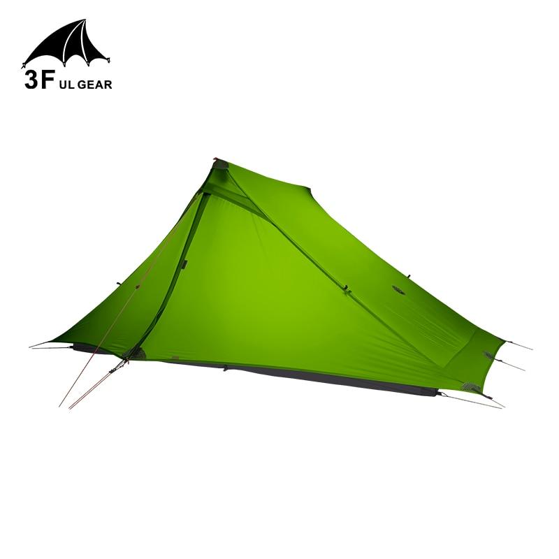 3F UL GEAR LanShan 2 pro 2 Person Outdoor Ultralight Camping Tent 3 Season Professional 20D Nylon Both Sides Silicon Tent недорого