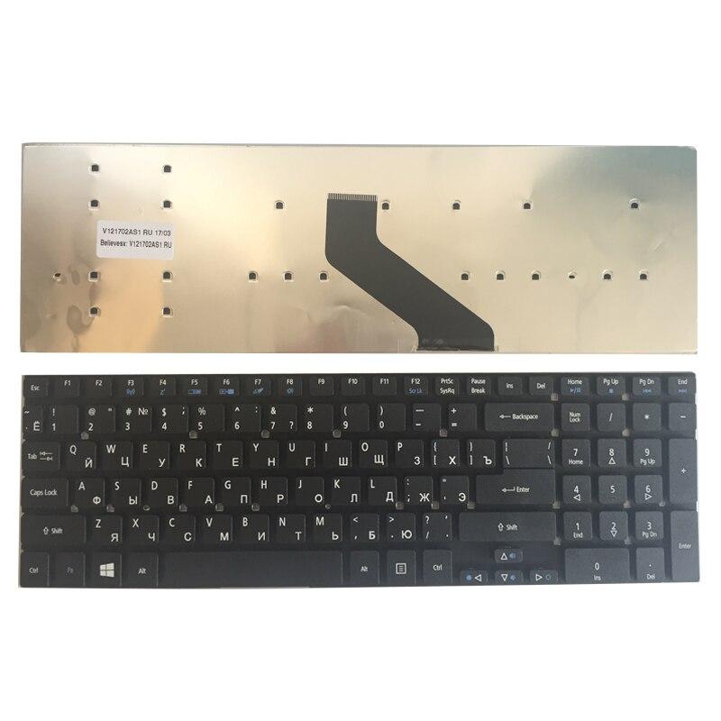 新ロシアエイサー熱望 ES1-531 ES1-731 ES1-731G 黒 ru ノートパソコンのキーボード