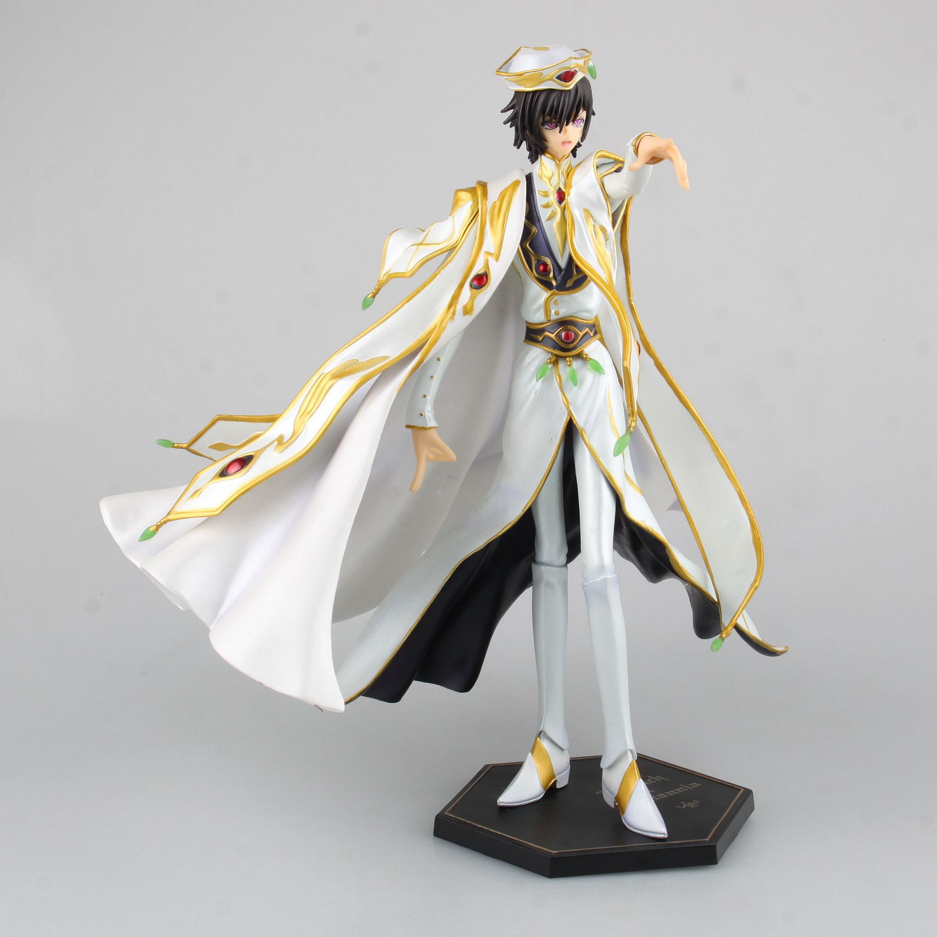Аниме код Geass R2 Lelouch Lamperouge Britannia Knight of Seven Emperor белый плащ Ver ПВХ 24 см экшн-фигурка кукла абсолютно новая