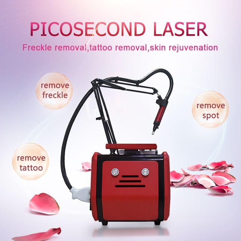 عالية الجودة 755 1320 1064 532 نانومتر جهاز إزالة الوشم بالليزر إزالة الوشم الجلد تبييض التجاعيد معدات تجميل لإزالة الشعر