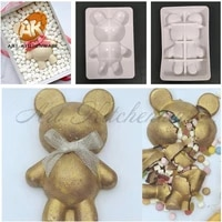 %e2%80%8blarge size 3d lovely baby bear silicone mousse mold creative breakable chocolate mould cake decorating tools baking accessories