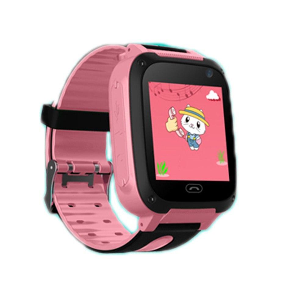 Teléfono Inteligente para niños, reloj inteligente con pantalla táctil multifuncional, reloj seguro para niños, regalos de cumpleaños