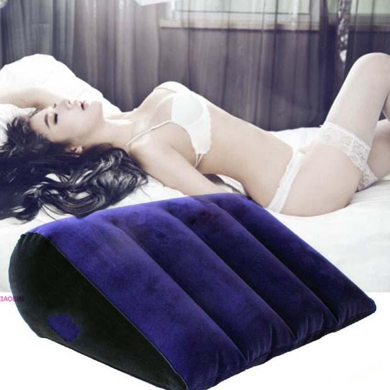 Almohada de amor sexual para adultos, cojín de ayuda inflable para parejas, muebles Bdsm, almohadilla corporal erótica, juegos sexys, Juguetes