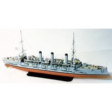 Modelo de papel para bricolaje 1: 250 Ochakov Imperial Ruso Navy Assemble Papercraft juego de rompecabezas 3D juguete educativo