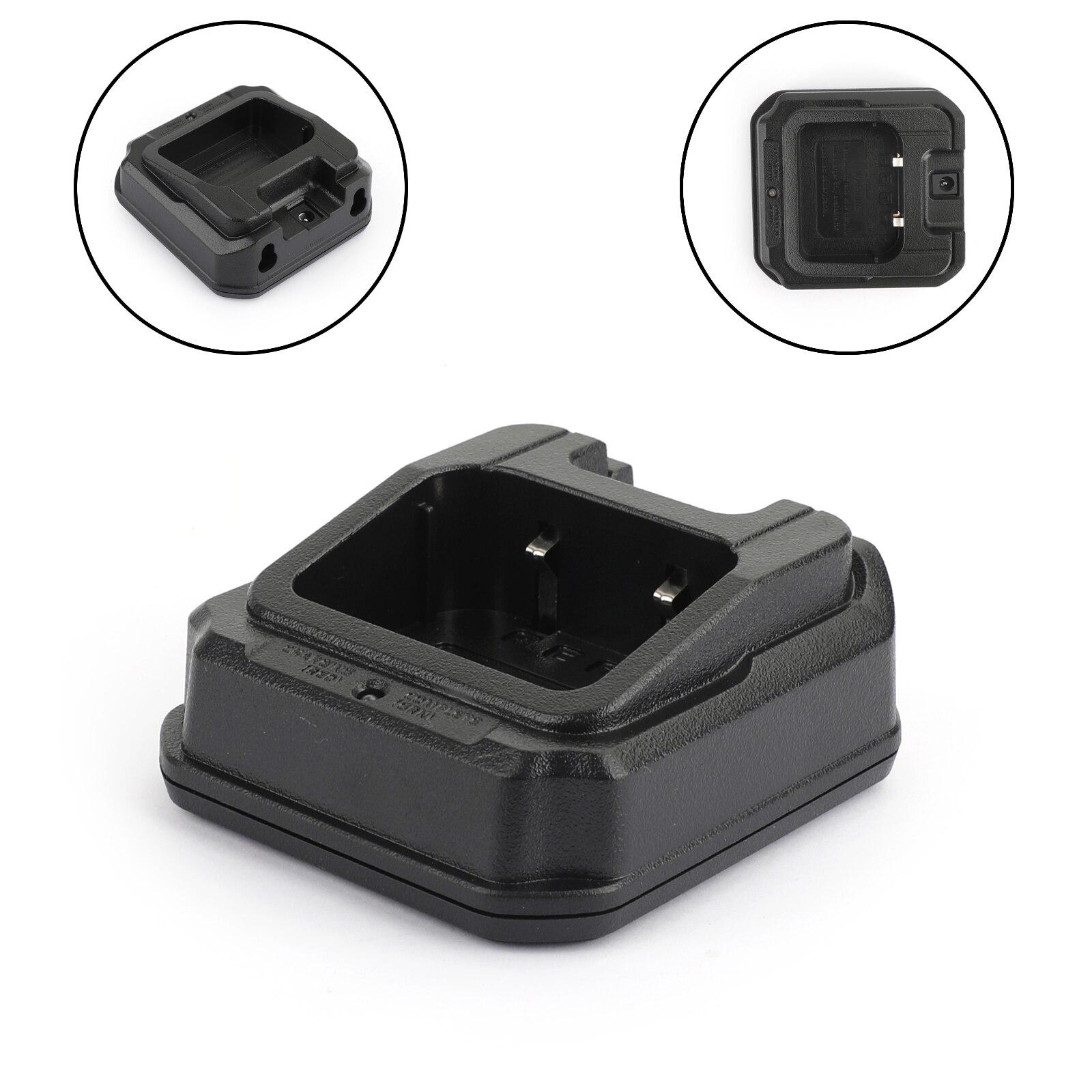 Artudatech 1PC Ladegerät Batterie Desktop Ladegerät Sockel Für Baofeng A58 S56 CHR9700 9RPLUS Walkie Talkie