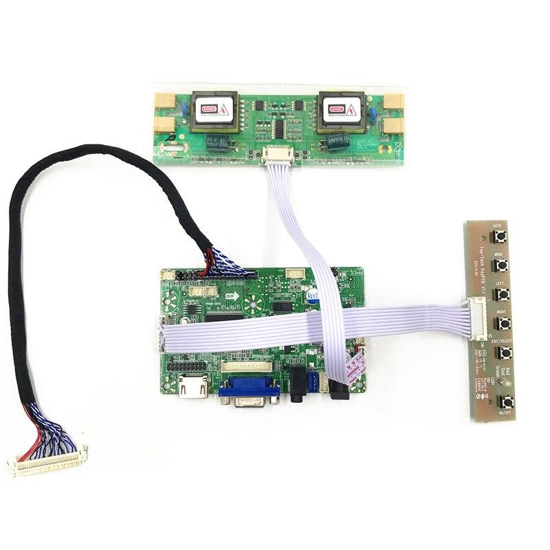 Placa de controlador LCD RTD2483 V1.1 soporte de programa de salto incorporado HDMI para AUO 19 pulgadas 1280X1024 LVDS LCD panel M190EG01 V2