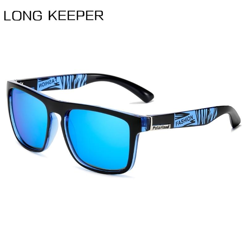 Nuevo diseño de marca, gafas de sol polarizadas para hombres y mujeres, 2020, gafas de sol cuadradas para conducción, gafas Vintage para hombres, gafas UV400
