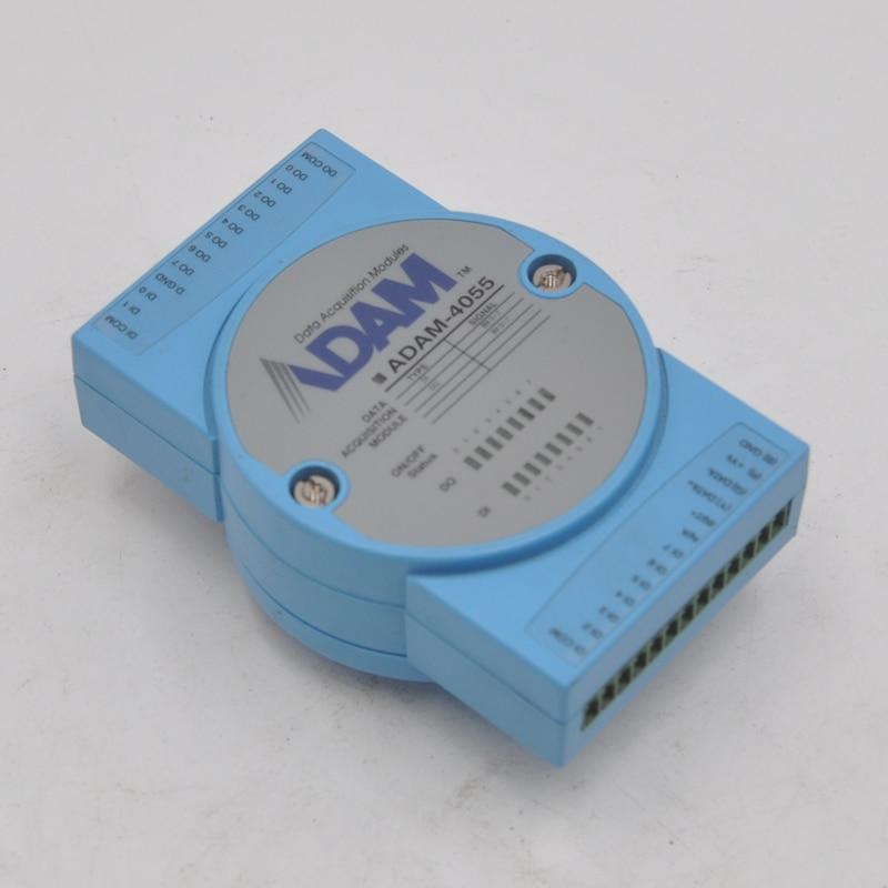 Advantech ADAM-4055 16-channel isolated digital input module supporting Modbus