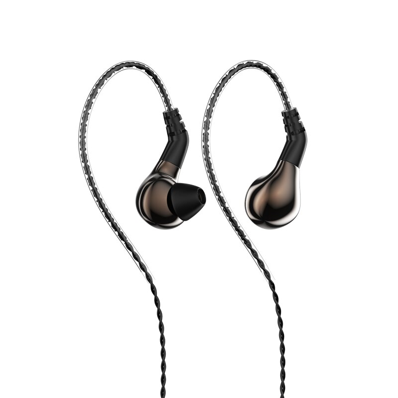 Carbon Diaphragm Dynamic Driver In Ear Earphone DJ Running Earphone Earbuds Detachable 2PIN Cable BL-01 enlarge
