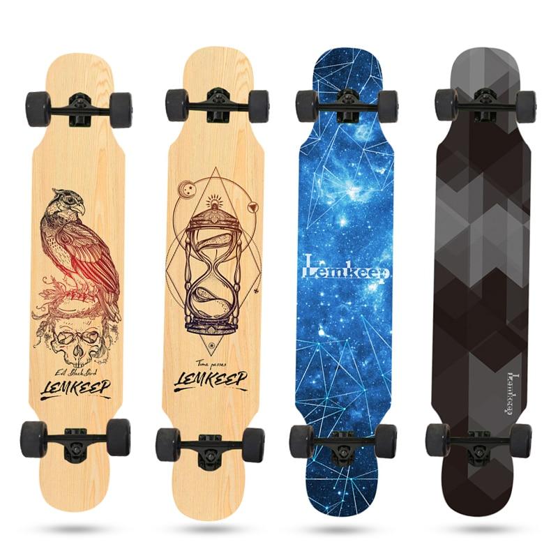 Профессиональный скейтборд, мужской скейтборд для роста, скейтборд для девочек и начинающих, взрослый скейтборд, поверхность для мальчиков...