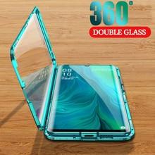 360 магнитный двухсторонний стеклянный чехол для Xiaomi poco x3 nfc x2 Redmi 9a 9c Note 9t 9s 9 Pro Max, полное покрытие, защитный чехол