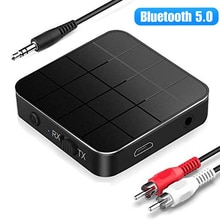Bluetooth 5.0 Audio Receiver Transmitter AUX RCA 3.5MM Jack USB Music Stereo Wireless Adapters For C