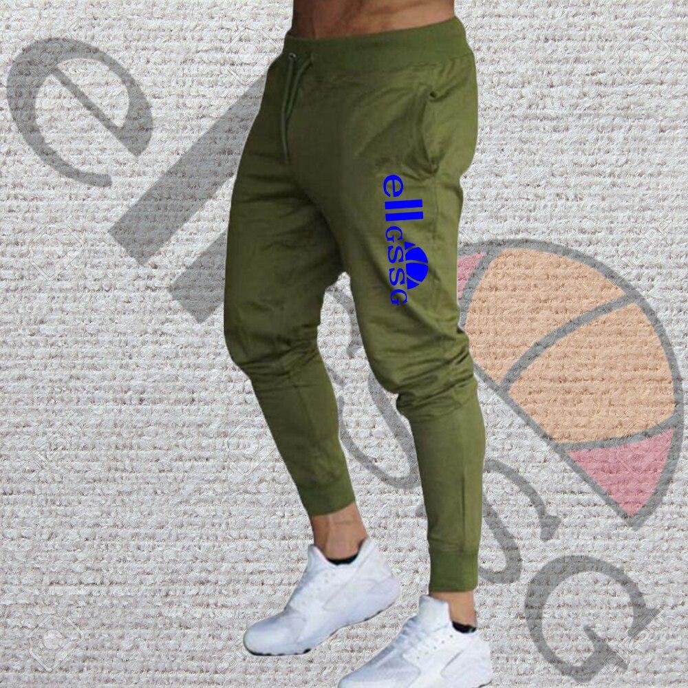 Men's new jogging casual pants fitness men's sportswear sportswear bottoming tight sports pants trou