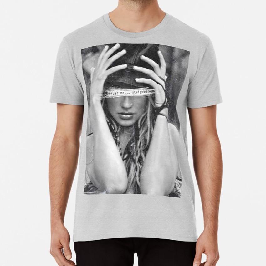 Sólo a mí. Despojado T shirt b w diva música canción idol pop rock christina xtina aguilera