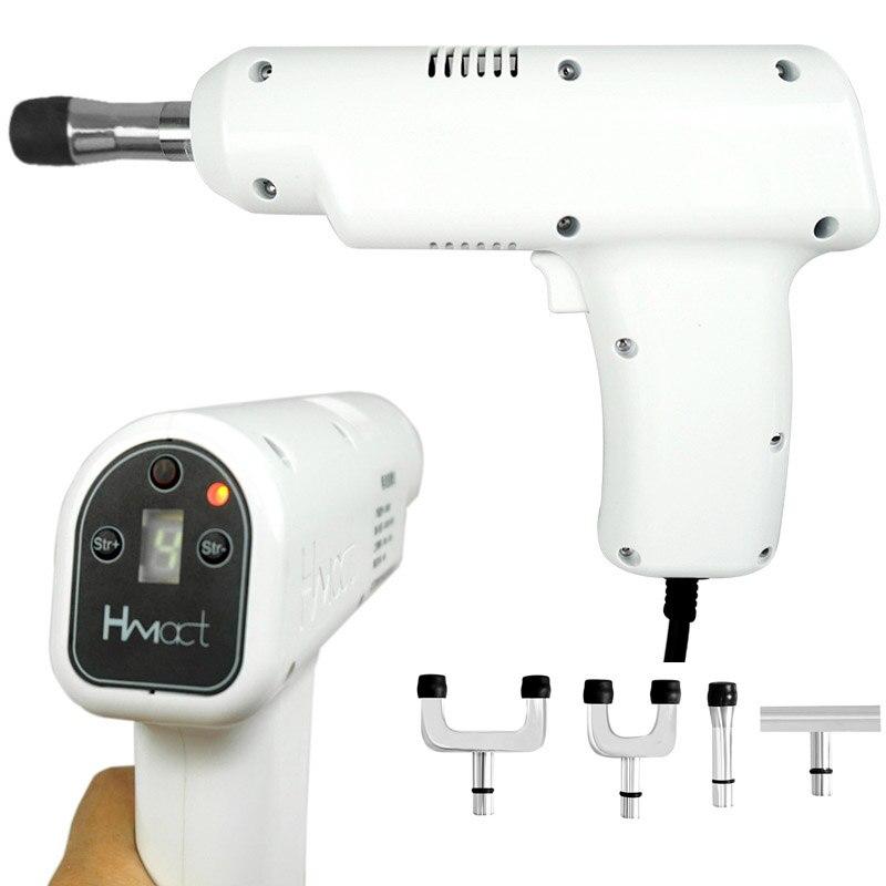 أداة تعديل تقويم العمود الفقري مع 4 رؤوس LCD ، أداة للتعديل وتعديل الظهر ، مدلك تنشيط عنق الرحم