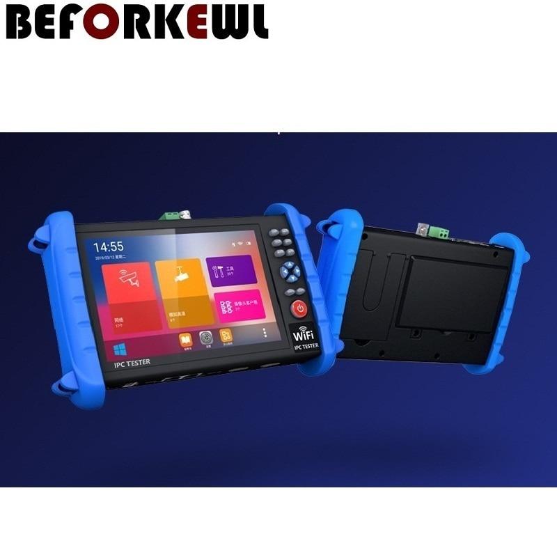 7-inch 1920*1200 touch screen H.265 4K IP/TVI /CVI /AHD 8MP/CVBS security signal professional tester 12V24V48V POE/HDMI optional enlarge
