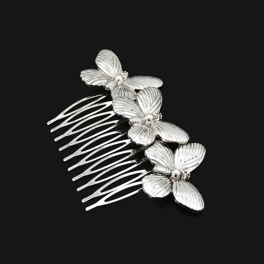 Clássico milagroso rainha abelha inseto pentes de cabelo jóias para mulheres joaninha cabelo jóias acessórios menina presentes hairpins hairwear