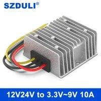 12v24v to 3 3v3 7v4 2v6v7 5v9v10a regulated power supply module car dc converter