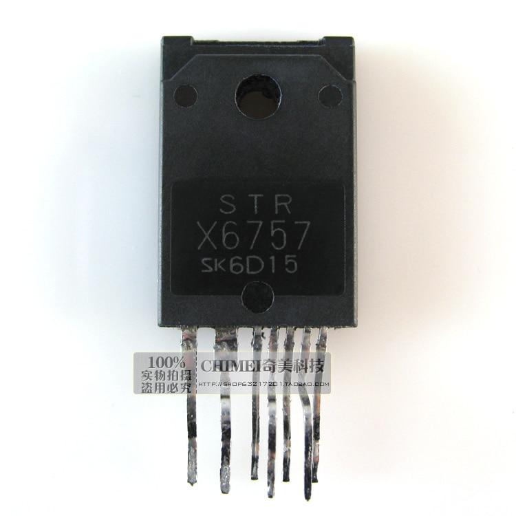 ¡Entrega Gratuita! STRX6757 STR - X6757 interruptor de fuente de alimentación control chips CI