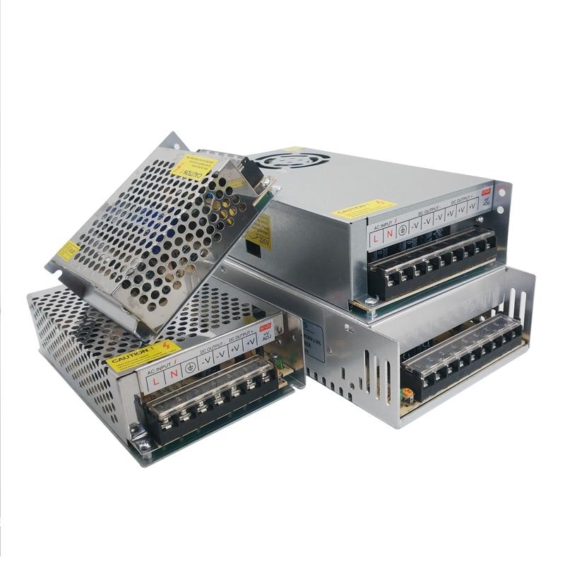 Fuente de alimentación de 3a, 5A, 10A, transformadores de 220V a 3, 9, 15, 18 V, voltios, CA/CC de 220V a 12V SMPS Mean Well