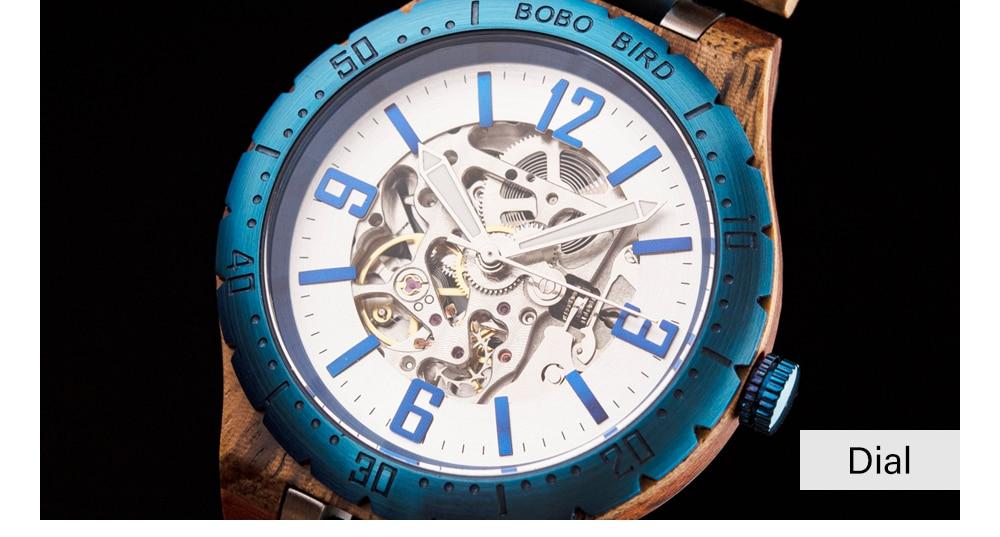 relógio de luxo masculino orologi uomo automatico