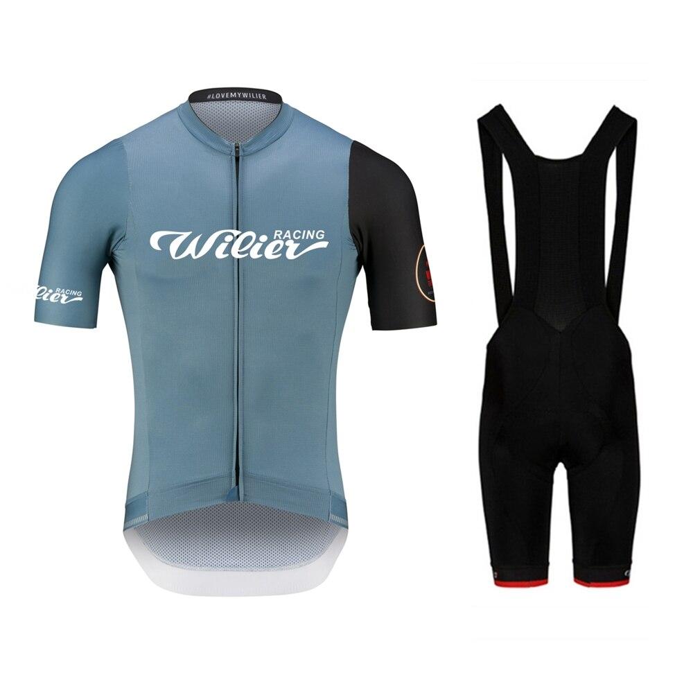 Wilier Racing-Conjunto De Ropa De Ciclismo para Hombre, Maillot, pantalones cortos, 2021