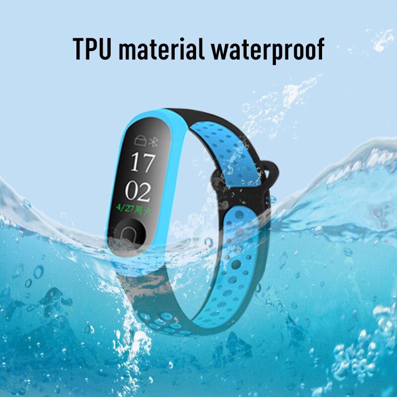 Double Color Smart Band Fitness Wearable Devices Smart Accessories Pedometers Millet Bracelet 3 Wristband Smart Sports Bracelet