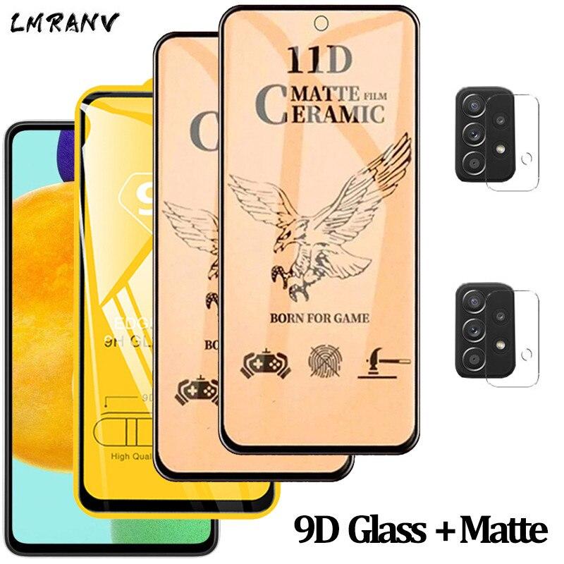Protector pantalla Samsung Galaxy A52, cristal templado samsung a 52 a72 a51...