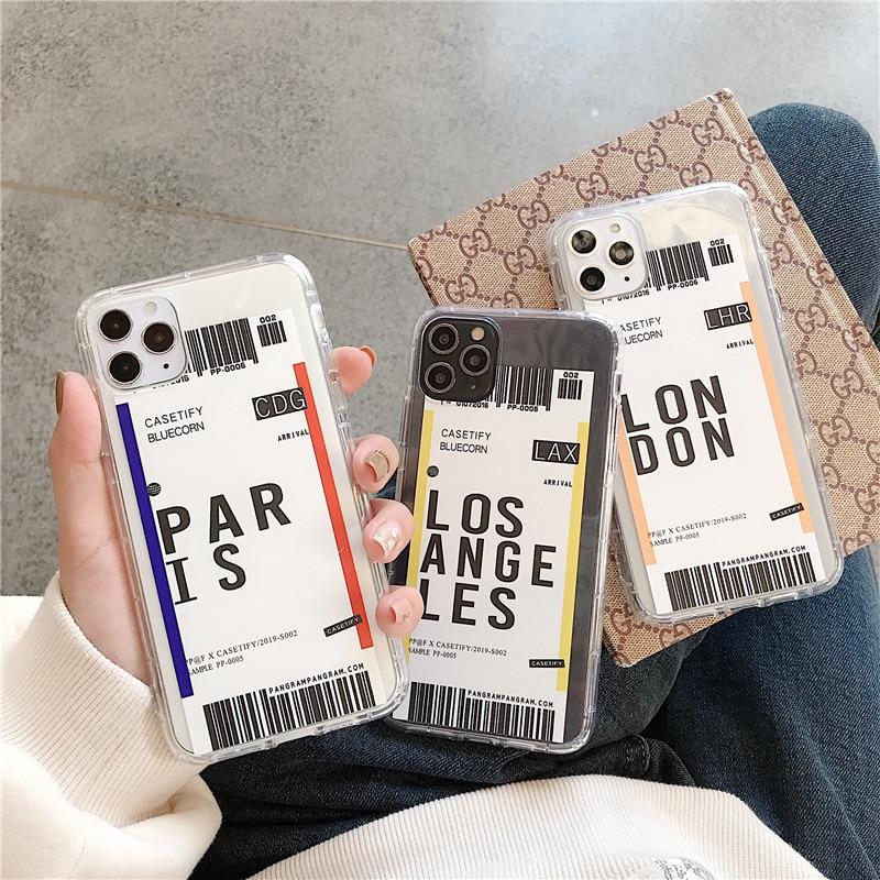 ¡Oferta! Funda de teléfono para iphone 6 plus 7 8 8plus 11 Pro X XS XR MAX de silicona suave TPU