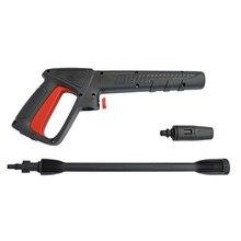 Outil de nettoyage de pistolet à eau de jet de lavage de voiture de nettoyeur à haute pression pour AR/noir et pont/Michelin/Interskol/Bosch AQT accessoires de lavage